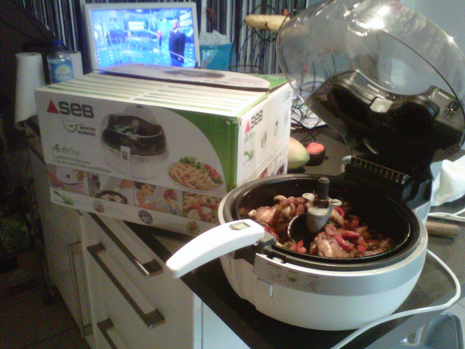 blog culinaire de christine kong archives du blog test de produits friteuse actifry de seb. Black Bedroom Furniture Sets. Home Design Ideas